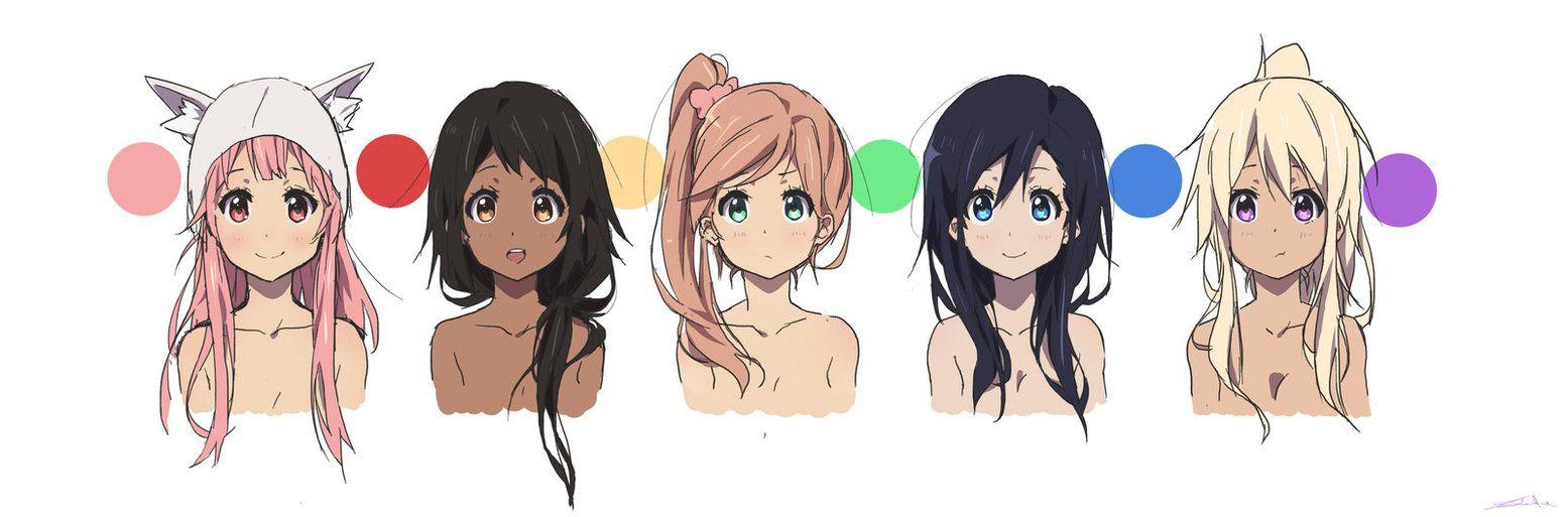 Female Characters Anime Female Characters Character Design Inspiration