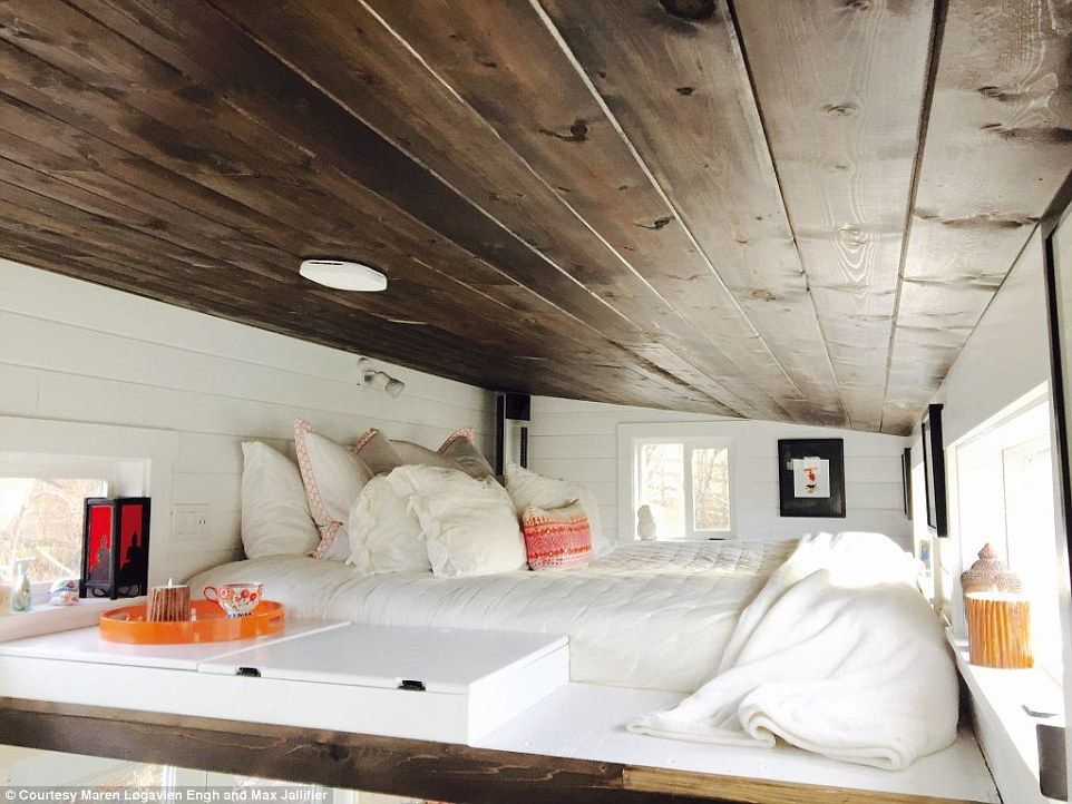 ravishing tiny trailer house. House San Francisco couple live in 162sqft trailer house that cost  80k