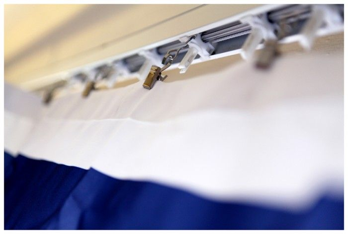 Replace Vertical Blinds With Curtains Use Hardware From Plus Beautiful Remedy