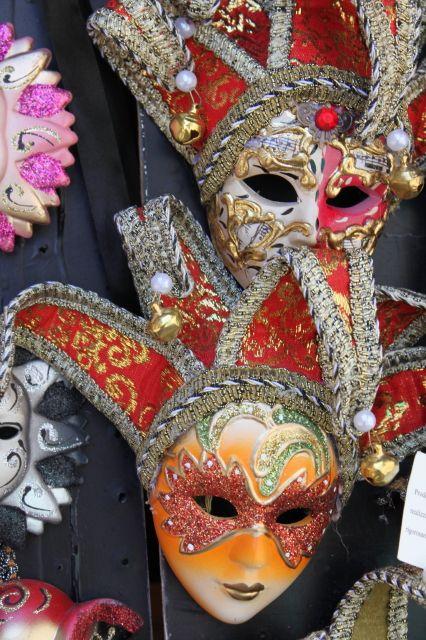 Masks - Venice - Italy .