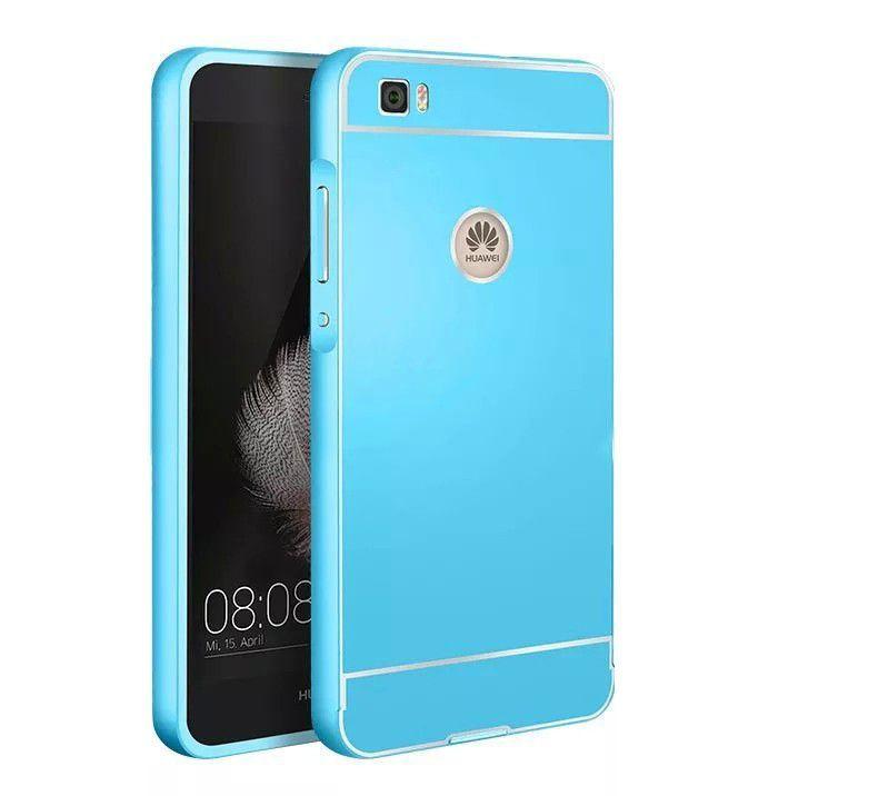 huawei p8 lite case cover Premium Aluminum Metal Frame case For Huawei Ascend P8 lite bumper Cover For huawei P8 mini cases