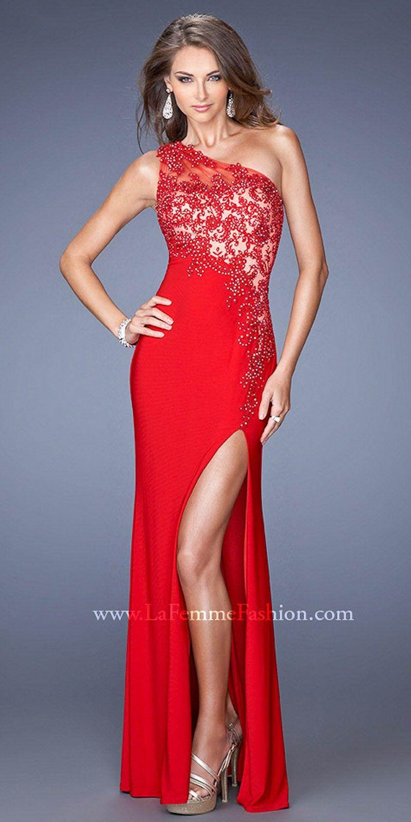 Black Lace One Shoulder Prom Dress Jqzzst My Fashion Studio