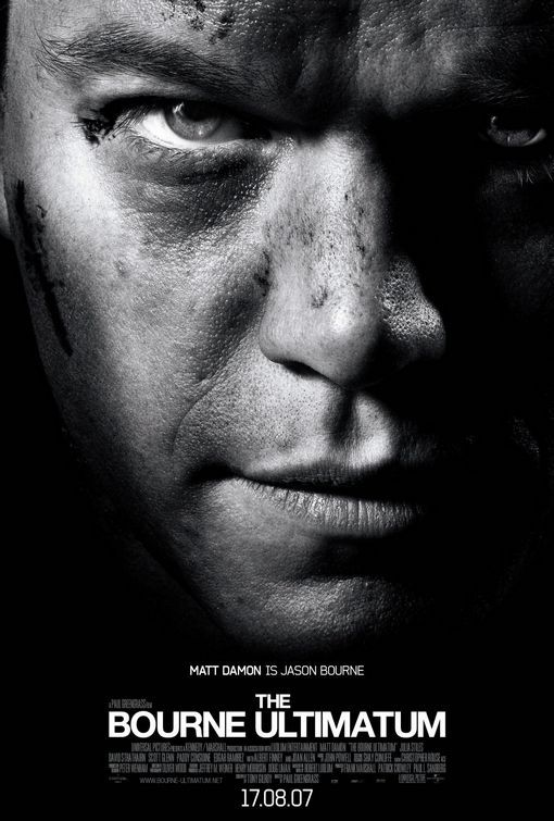 The Bourne Ultimatum Cartazes De Cinema Filmes Cartazes De Filmes