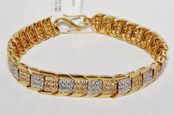 818072ee2e366 mens gold bracelet designs with   Bracelets in 2019   Mens gold ...