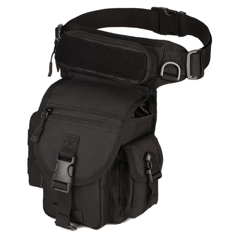 Leg Bag Tactical Drop Military Army Thigh Utility Waist Belt Outdoor Multi Pouch