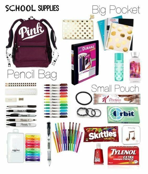 Dinge, die du für den ersten Schultag brauchst !!!!!!! #schooloutfit