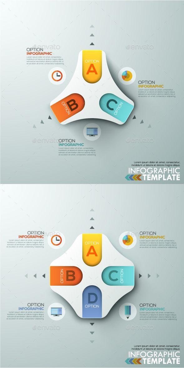 Modern Infographics Paper Template (2 Items) #design Download: http://graphicriver.net/item/modern-infographics-paper-template-2-items/13123997?ref=ksioks