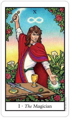 The Magician From Connolly Tarot Tarot Cards Art The Magician Tarot Tarot