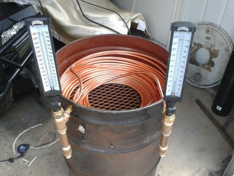 Redneck Pool heater | Hearth.com Forums Home - Wood Burning Pool Heater - Heat Your Pool For Free! ~ Simple