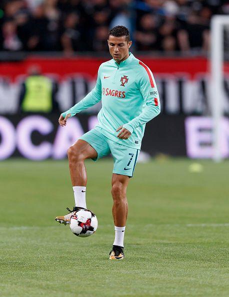 Cristiano Ronaldo Of Portugal Warms Up Prior To The Fifa 2018 World Picture Id842664298 458 594 Ronaldo Cristiano Ronaldo Cristiano Ronaldo Portugal