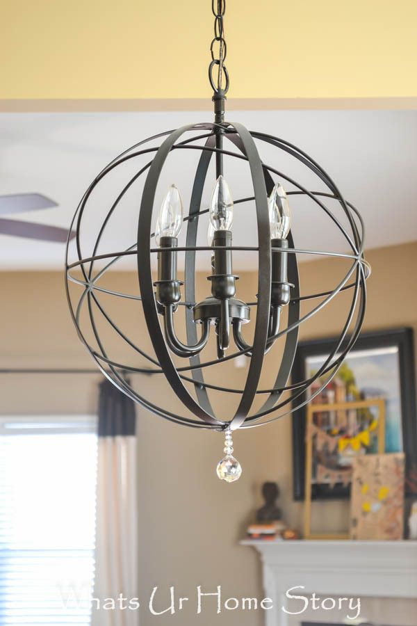 Diy orb chandelier orb chandelier chandeliers and tutorials make this diy orb chandelier tutorial for 40 whats ur home story aloadofball Image collections