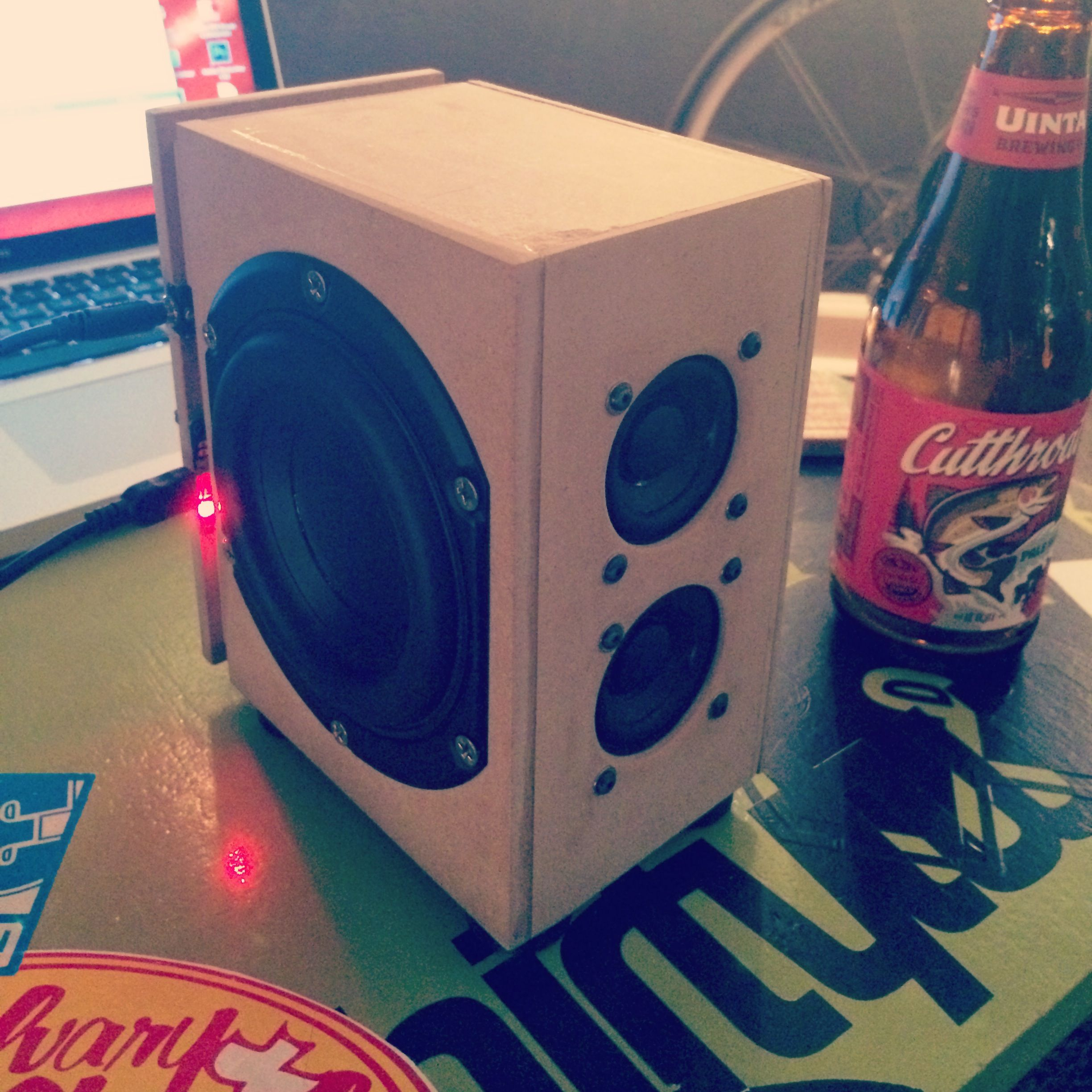 2nd Iteration Of My 3w Portable Speaker Dayton 1 7 8 Quot 4