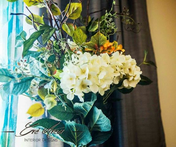 Accessories, Floral arrangement, decorating a dresser.  Garland Residence by Gré Area Interior Designs