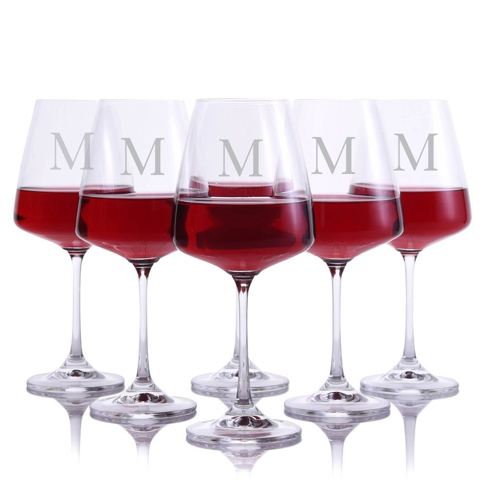 3c6b99c2b5a Amazon.com | Custom Mozart Wine Decanter 7pc. Stemless Set by Crystalize  Personalized, Engraved &… | Custom Crystal Valentine's Day Gifts by  Crystalize ...