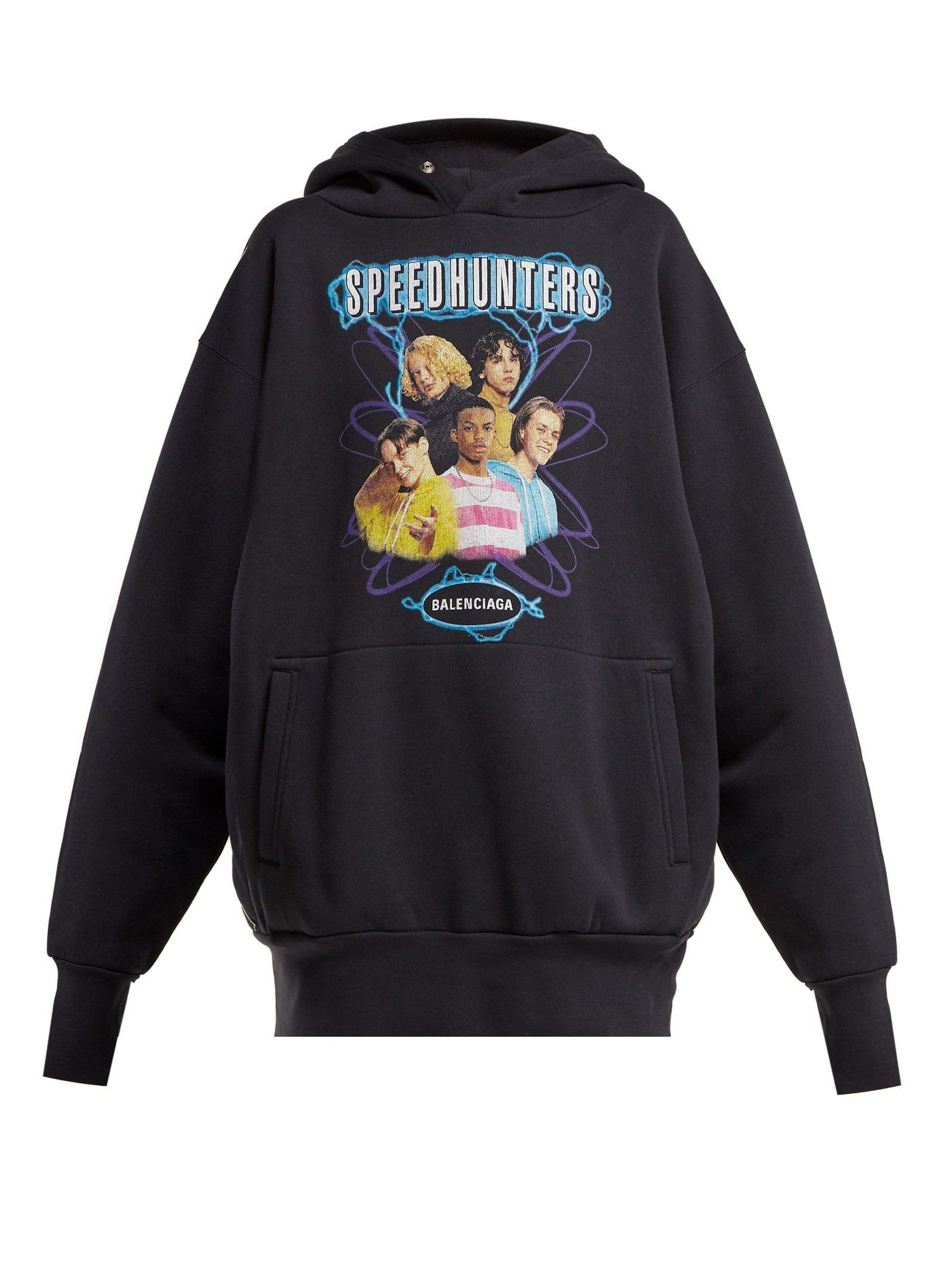 Speedhunters logo-print cotton-jersey sweatshirt   Balenciaga    MATCHESFASHION.COM a25ab7324ee