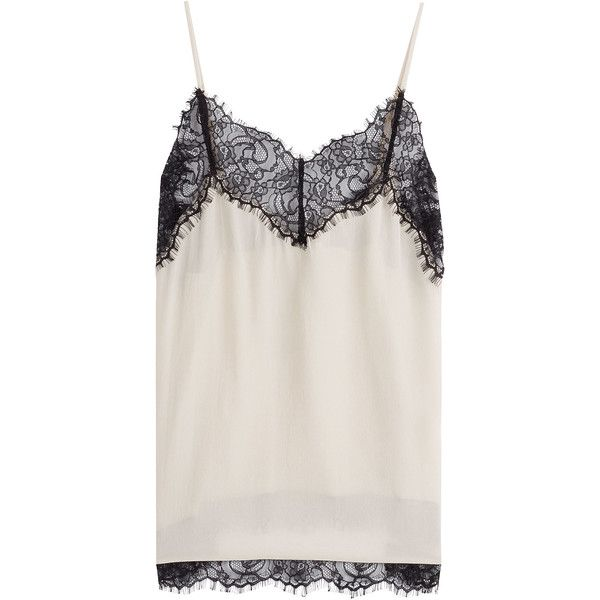 Day Birger et Mikkelsen Silk Camisole (78.155 CLP) via Polyvore featuring intimates y camis