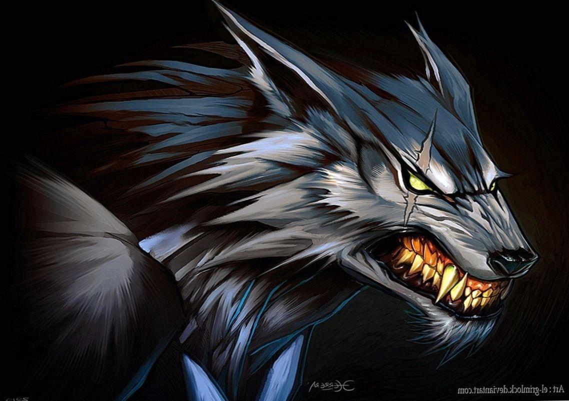 Anime Werewolf Wallpapers Wolf wallpaper, Werewolf art
