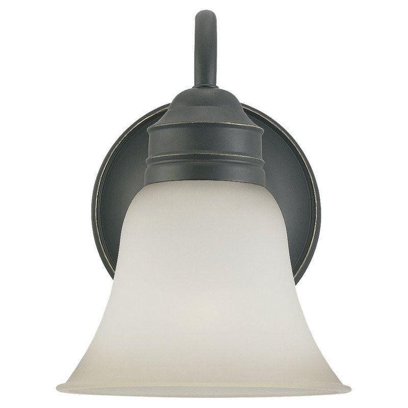 Sea Gull Lighting 44850 Gladstone 1 Light Bathroom Sconce