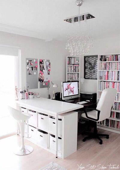Pretty Office Home Decor