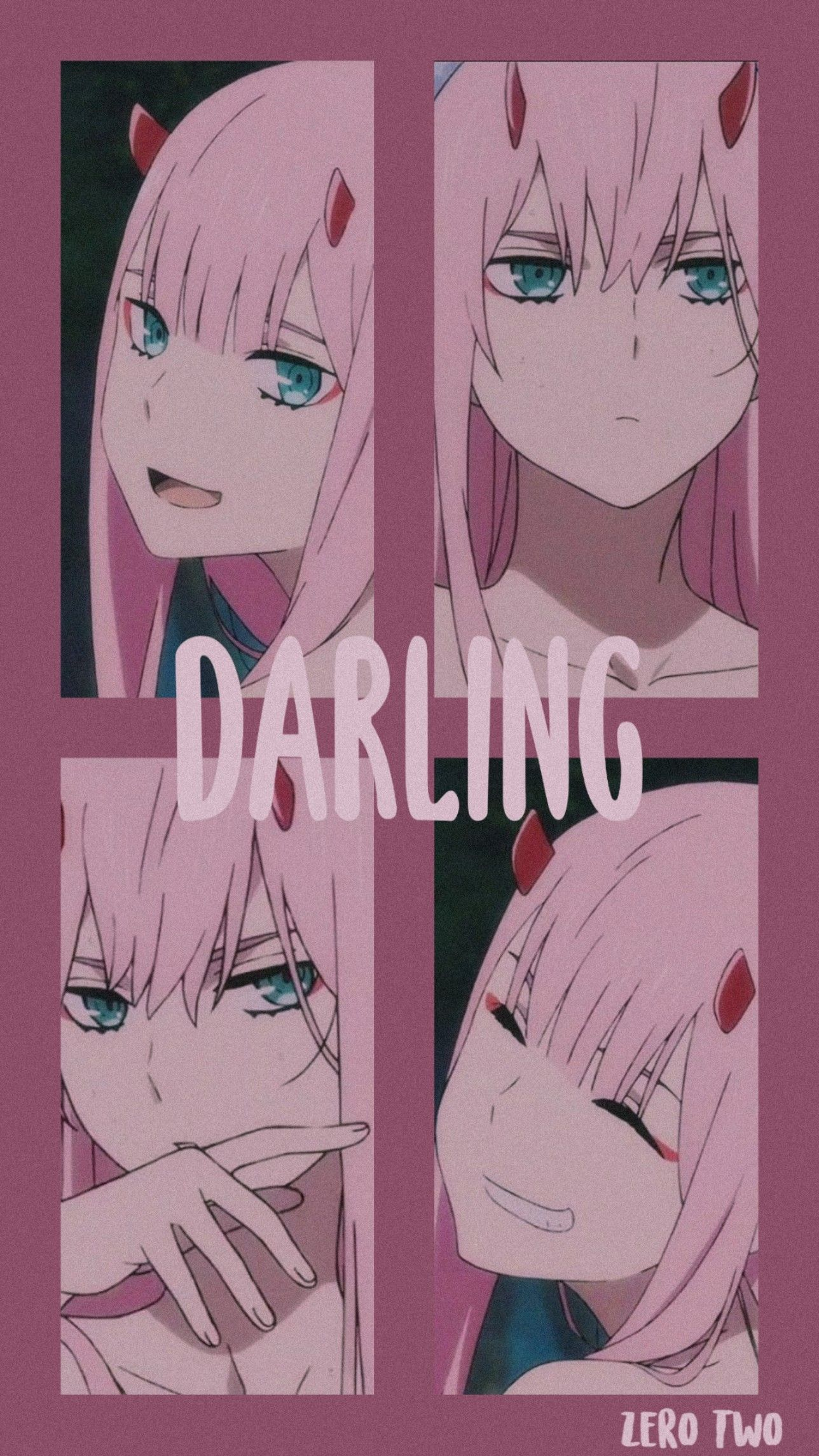 Darling In The Franxx Zero Two Wallpaper Em 2020 Animes Wallpapers Personagens De Anime Wallpapers Bonitos