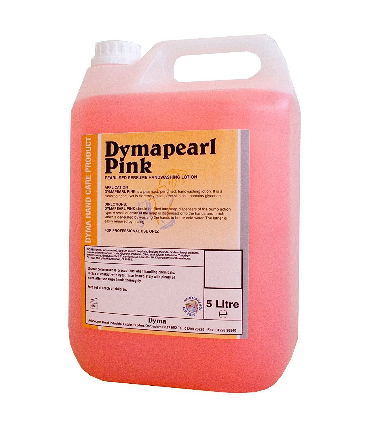 Details About Dymapearl Pink Hand Soap Perfumed Hand Washing