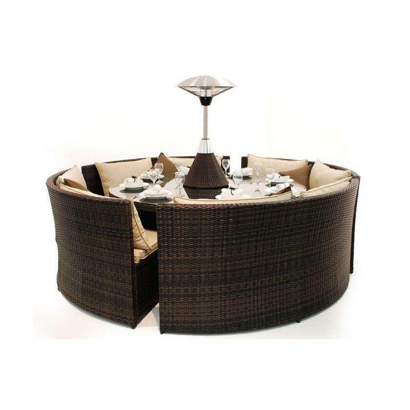 Maze Rattan - Dallas Sofa Dining Set | home / Garden | Pinterest
