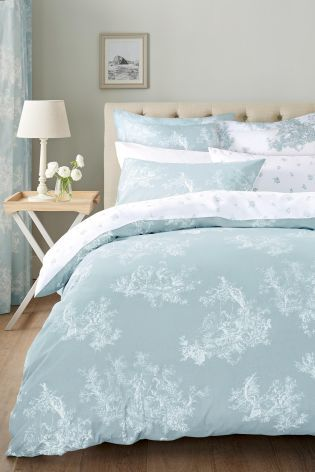 2 Pack Duck Egg Toile Bed Set Duck Egg And Grey Bedroom Blue Bedroom Decor Duck Egg Blue Bedroom