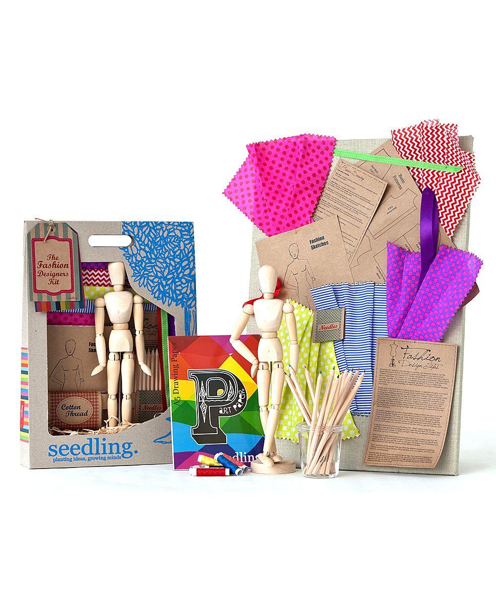 The Fashion Designers DIY Set Seedling Diy set, Arts