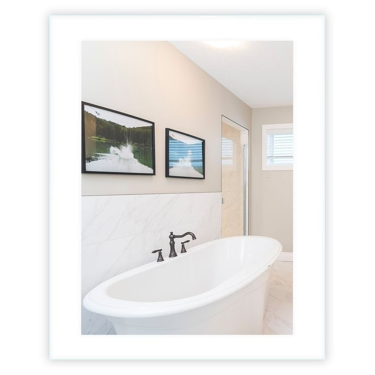 Seitlich Beleuchteter Led Badezimmerspiegel 40 X 48