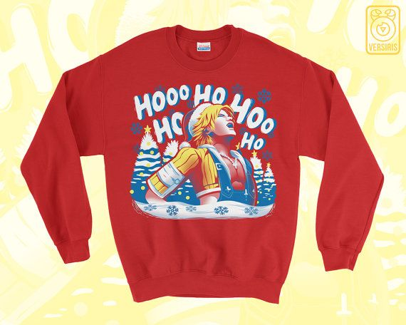 Tidus Laugh SWEATER Jolly Tidings // Final Fantasy X FFX ...