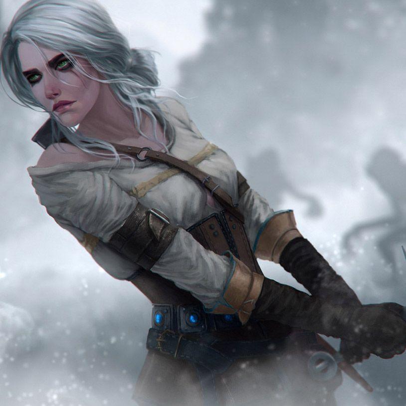 [Witcher] Ciri In The Fog Wallpaper Engine Ciri witcher