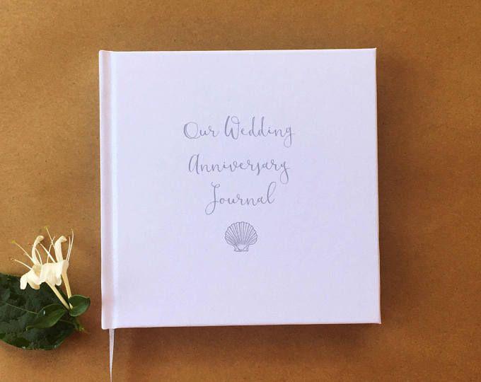 Our First Wedding Anniversary Journal First Anniversary Gift Wedding Anniversary Diary Keepsa First Anniversary Gifts Paper Anniversary Anniversary Journal
