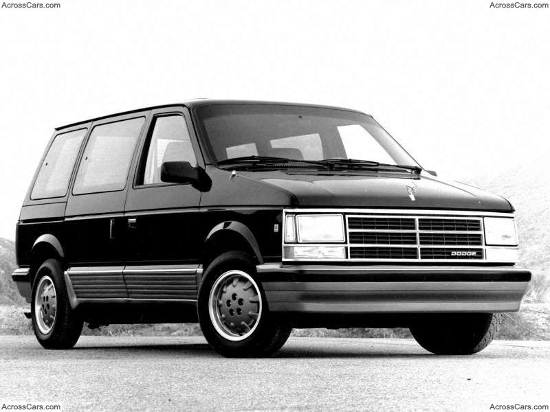 Dodge Caravan 1988 Grand Caravan Chrysler Voyager Dodge