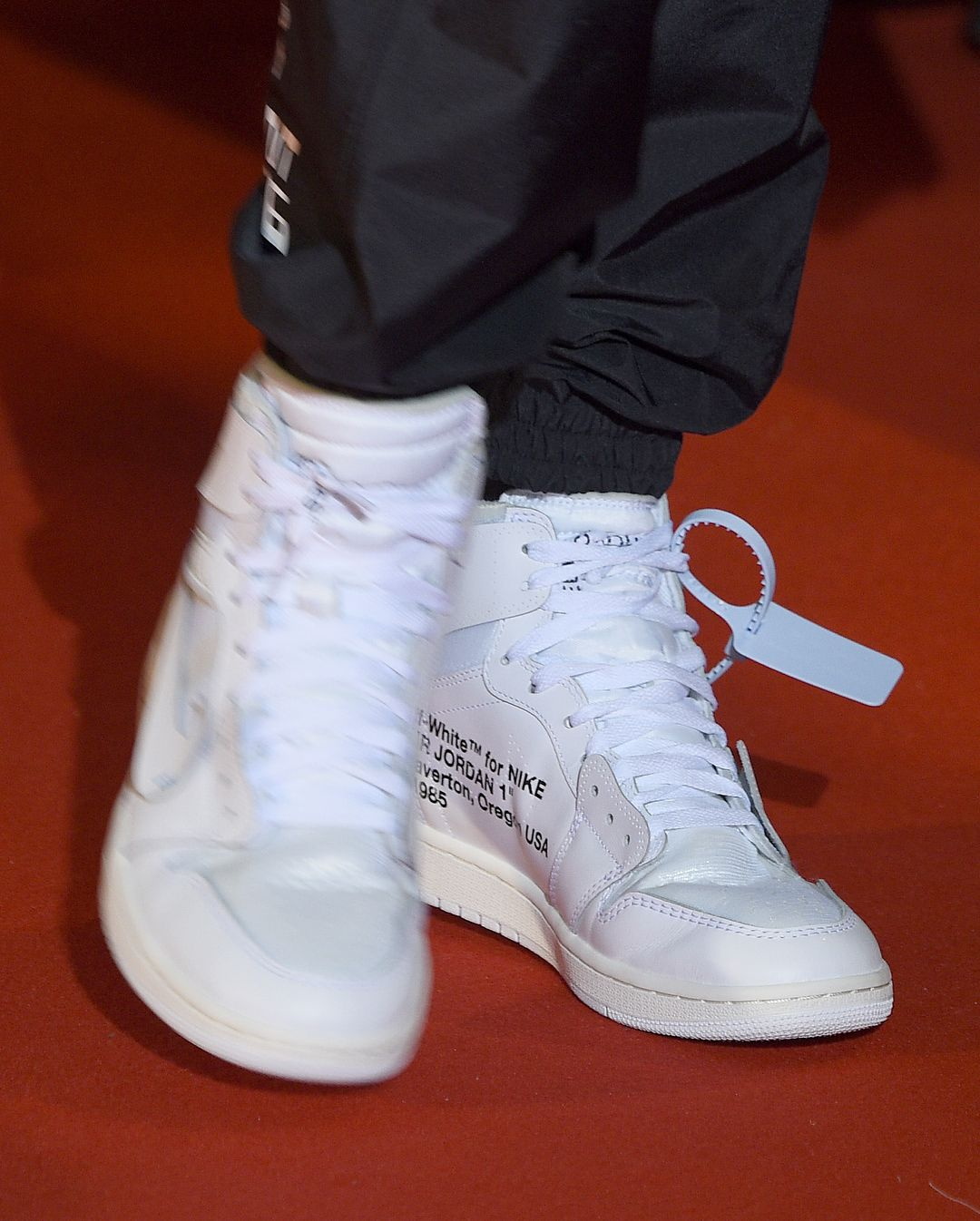 ee9772afc368e4 Another look at the white colorway of the Off-White x Air Jordan 1 by   VirgilAbloh from Paris.