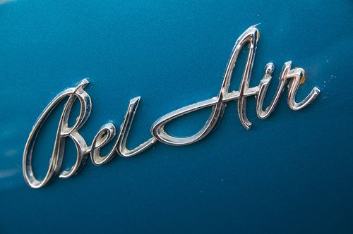 Bel Air Emblem The Chevy Bel Air Will Always Remind Me Of My Mom