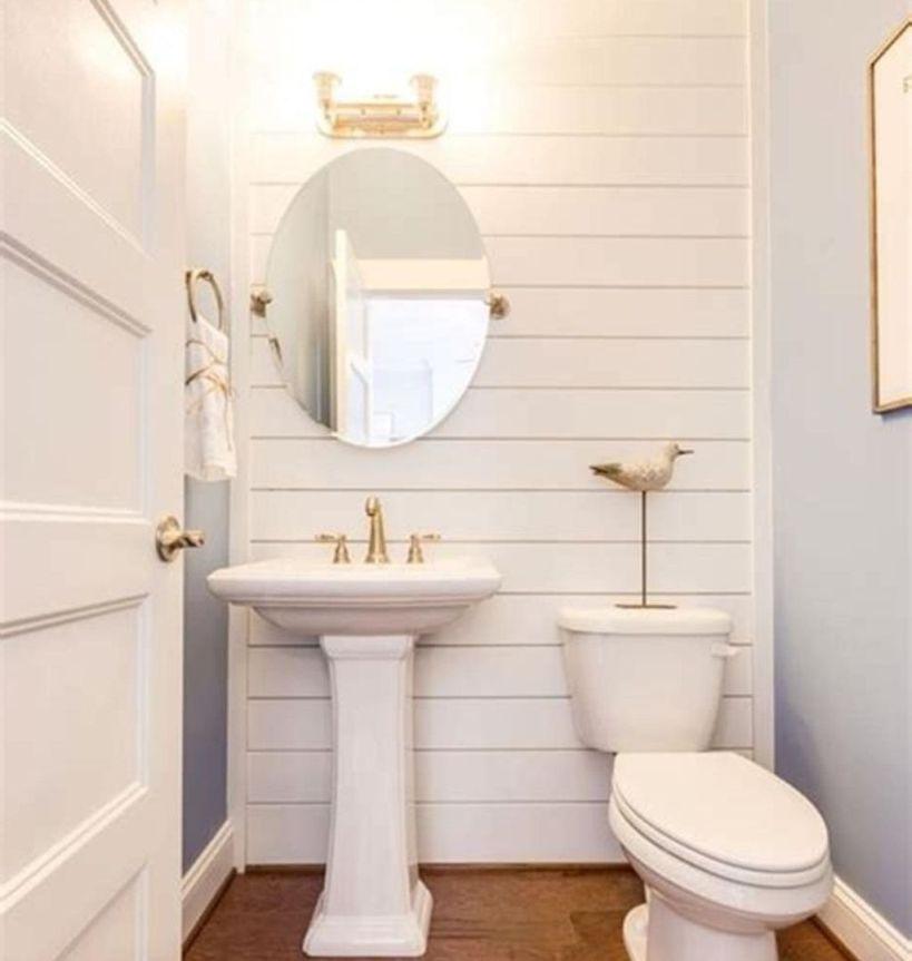 Small Bathroomdesign Ideas: 37 Latest Diy Half Bathroom Designs Ideas #bathroom