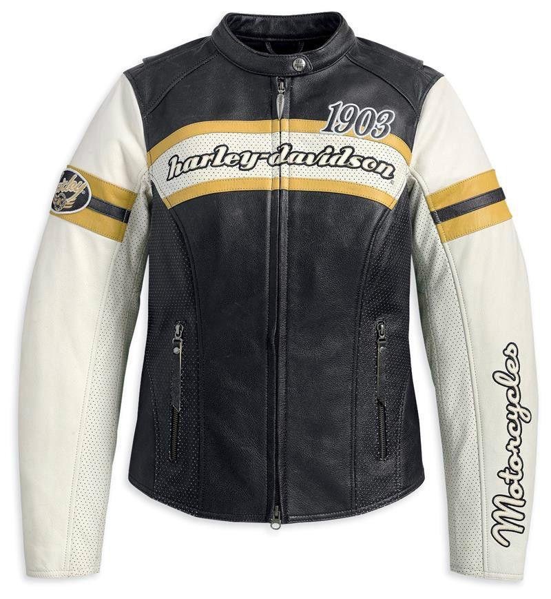 HarleyDavidson® Women's Finish Line Perforated Leather