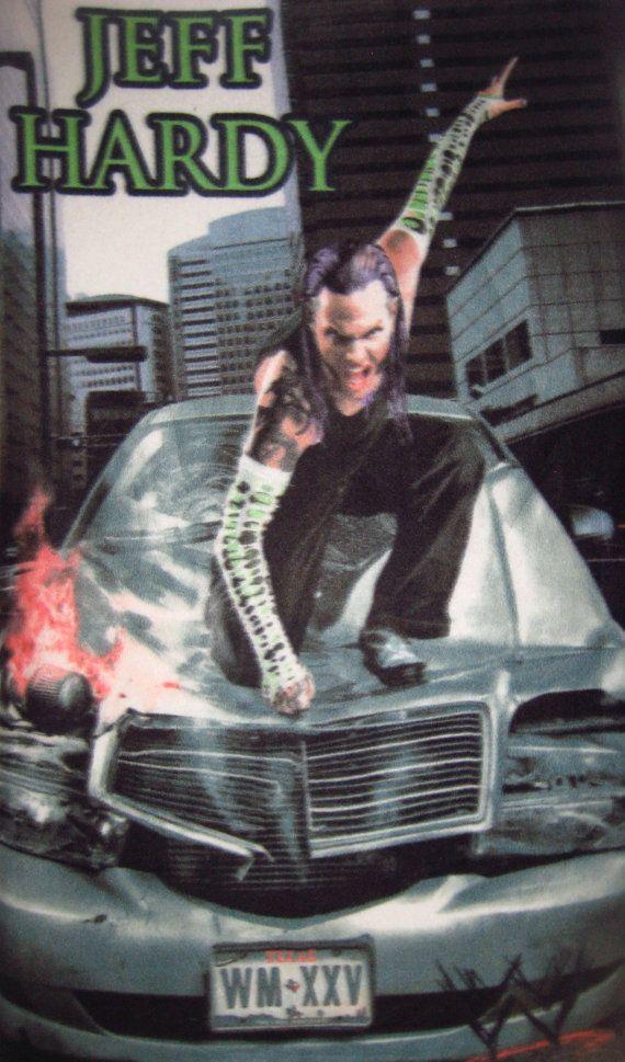 Wwe Wrestling Jeff Hardy Panel Fleece Fabric Throw By Iciblue