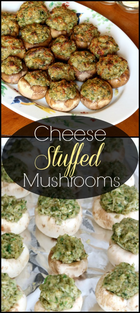 Photo of Italian-Style Cheese Stuffed Mushrooms | Kitchen Dreaming