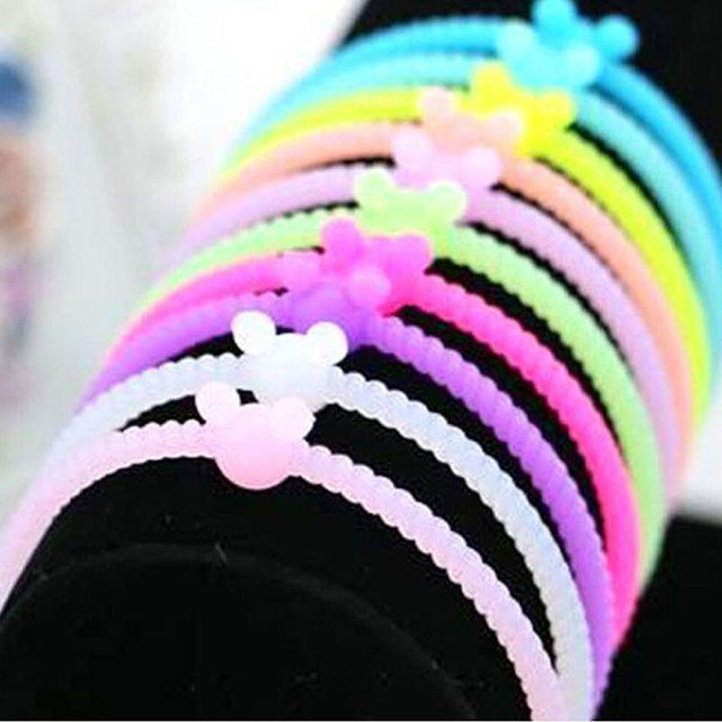 Pulseras de silicona elastica