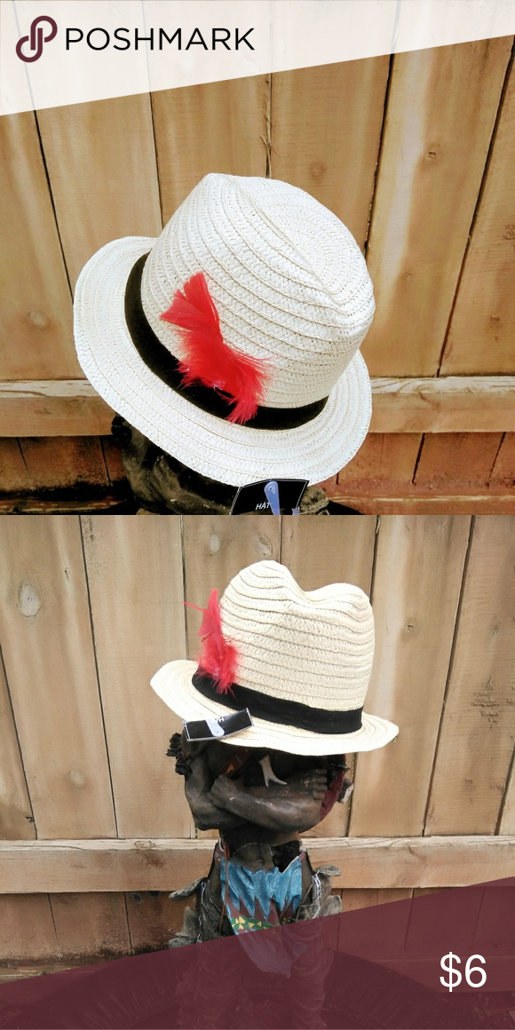 ba025155 Little boys dress hat A cream black and red little boys dress hat & Other  Stories Accessories Hats
