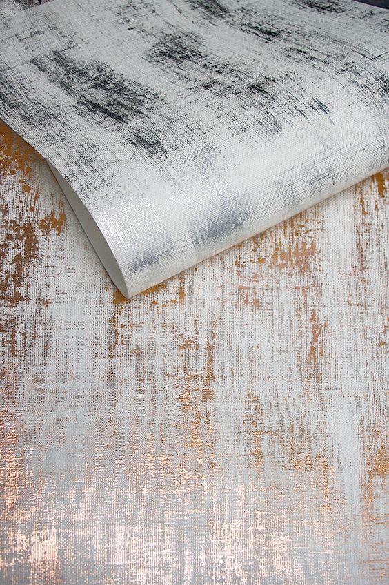 Copper Silver Wallpaper