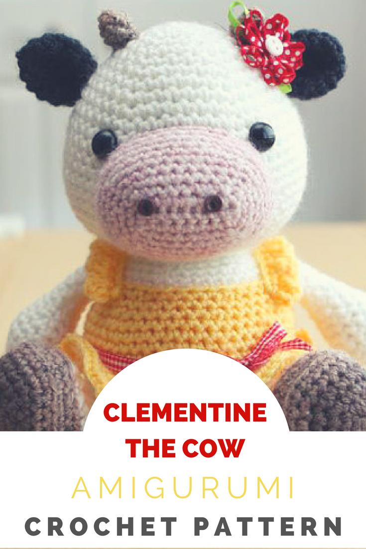 Crochet Cow Pattern Amazing Design Inspiration