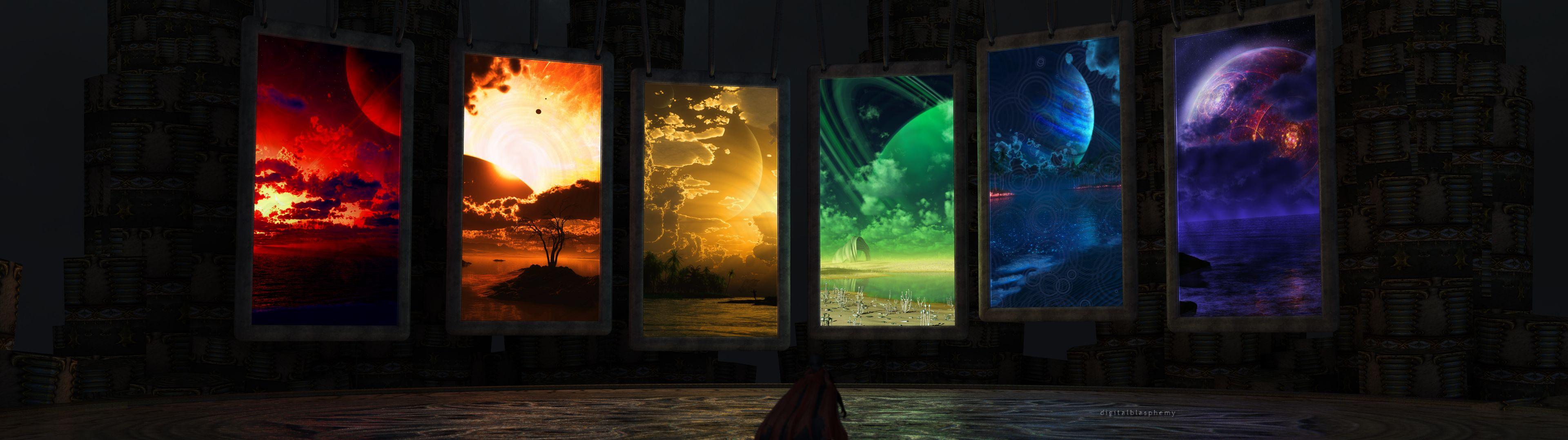 Wallpaper Robot Sci Fi Hd 110 All Images 3840x1080 Wallpaper Dual Monitor Wallpaper Screen Wallpaper Hd