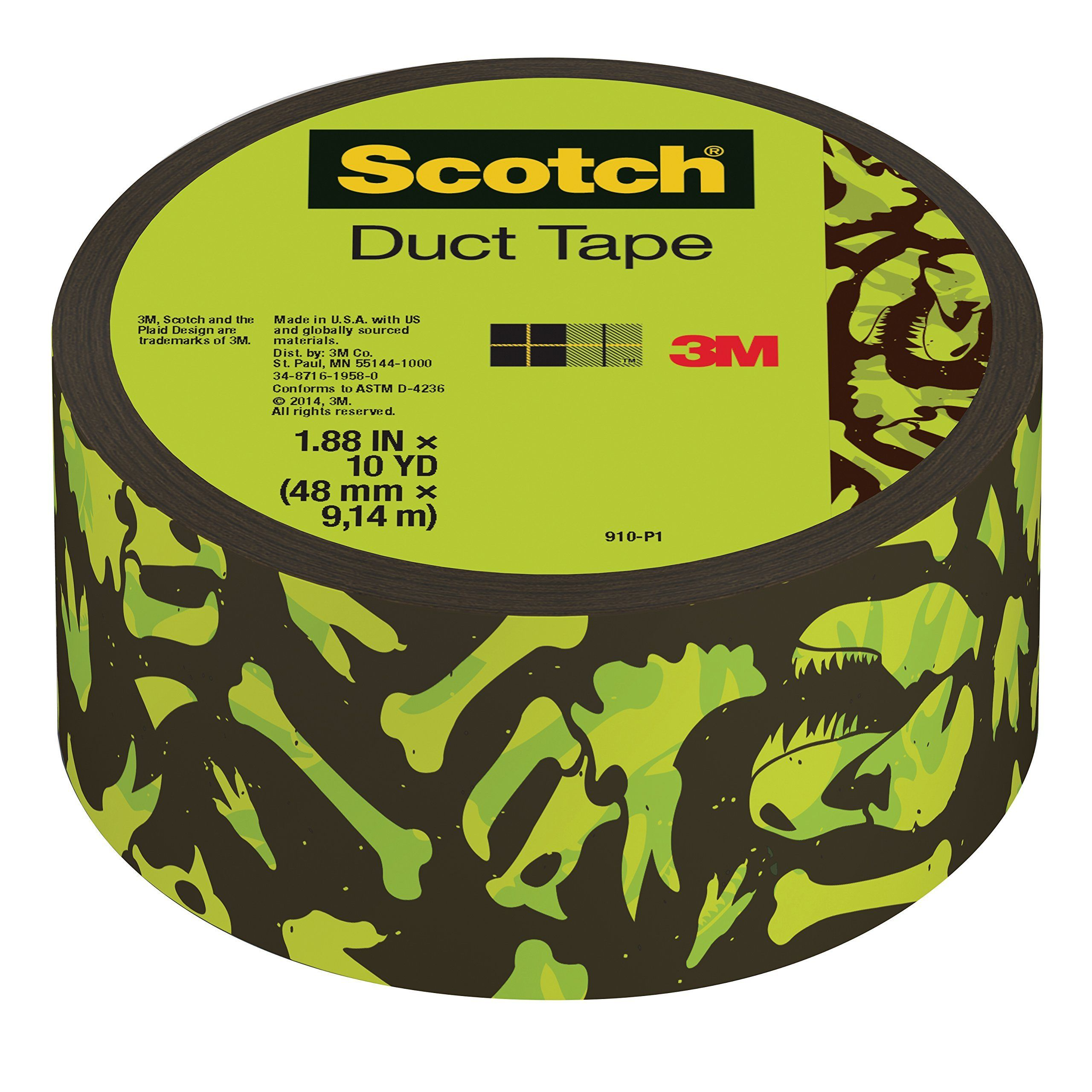 Silver 12 Rolls per Duck Brand 284358 All-Purpose Duct Tape 1.88 by 45 yd.