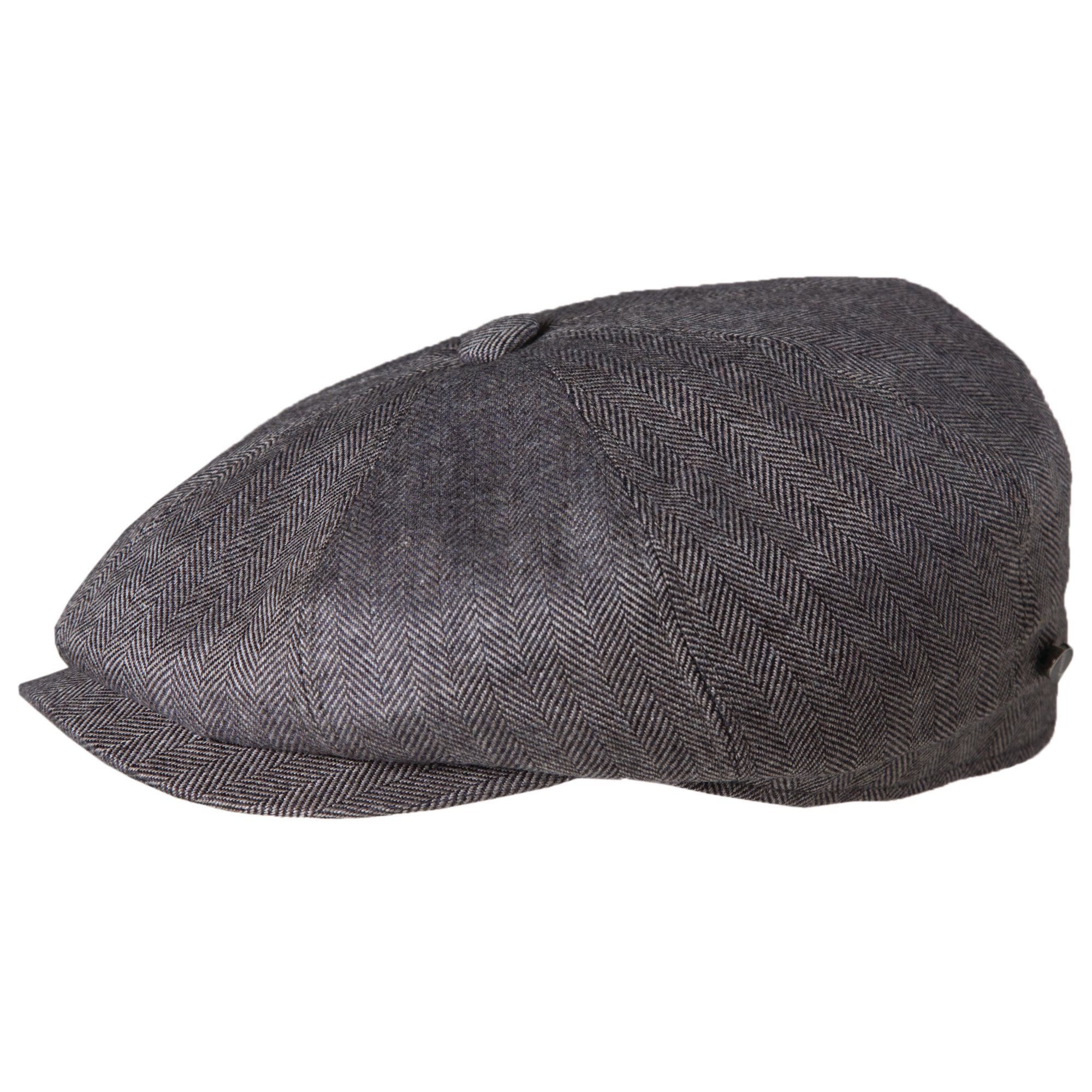 301cb0c5 This stylish newsboy cap is made of ultra- soft cashmere and silk. It is  lined with silk for comfort. This style of hat is also known as an 8/4 cap  because ...