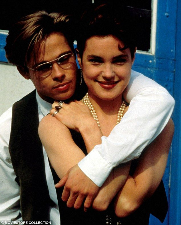 """Movie """"The Favor"""" starring the  lovely Elizabeth McGovern and Brad Pitt"""