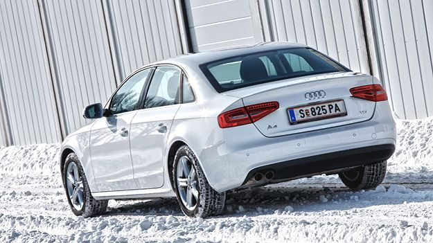 Audi A4. http://www.autorevue.at/best_of_test/fahrberichte/audi-a4-20-tdi-test.html
