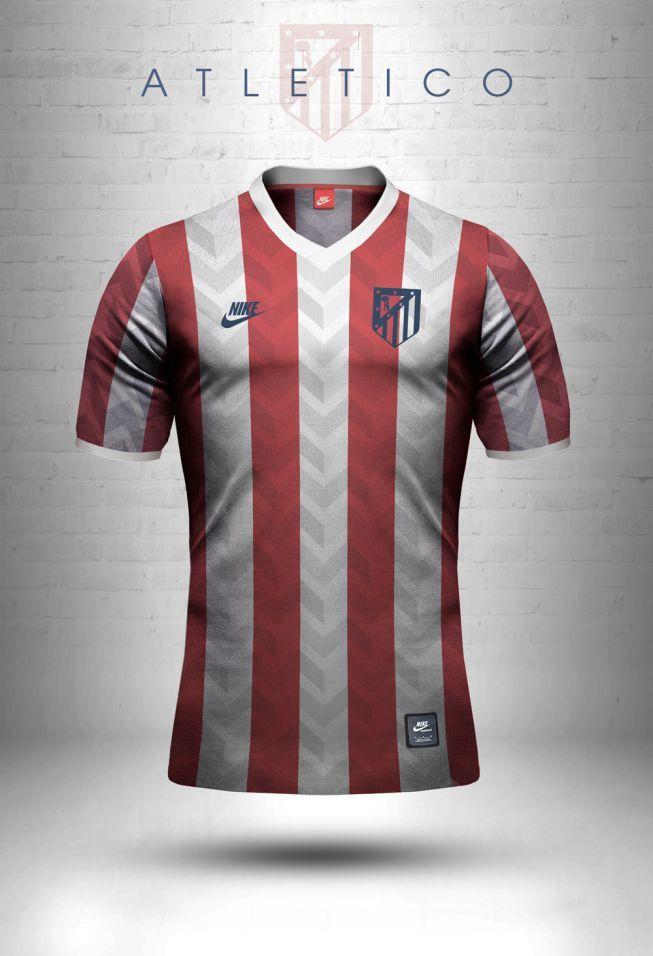 Las camisetas onda retro de los mejores equipos del mundo ... c7eba22f84866