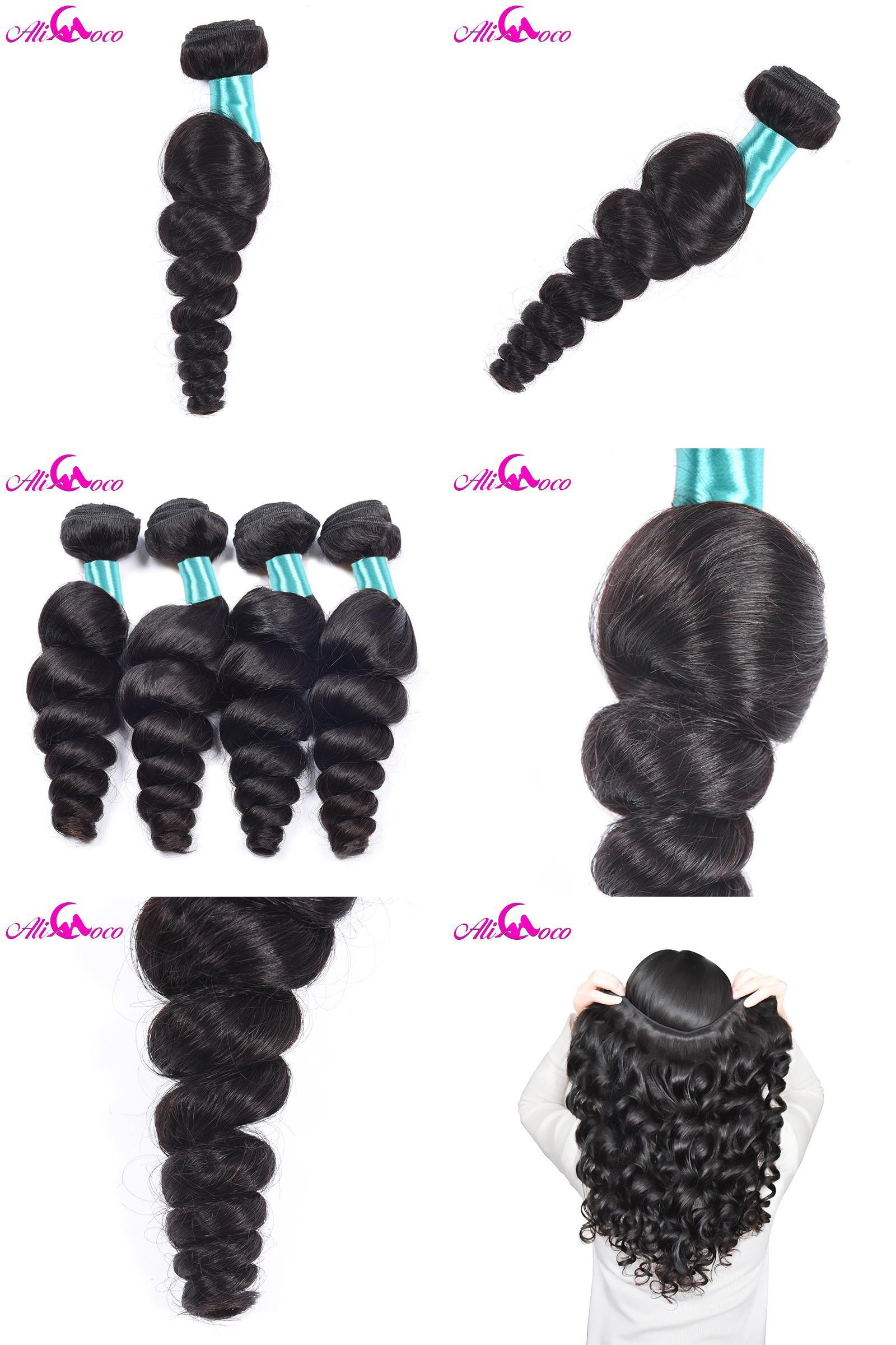 Visit To Buy Ali Coco Hair Malaysian Loose Wave Hair Bundles